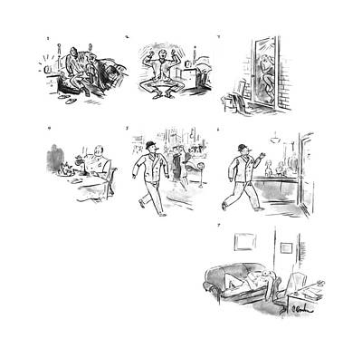New Yorker March 16th, 1940 Art Print