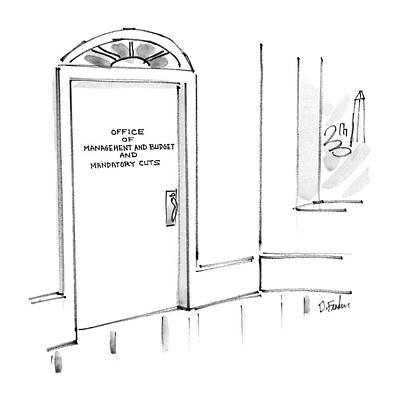 New Yorker March 17th, 1986 Art Print by Dana Fradon