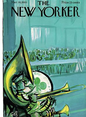 New Yorker March 18th, 1961 Art Print by Arthur Getz