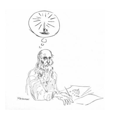 New Yorker March 20th, 1971 Art Print by James Stevenson