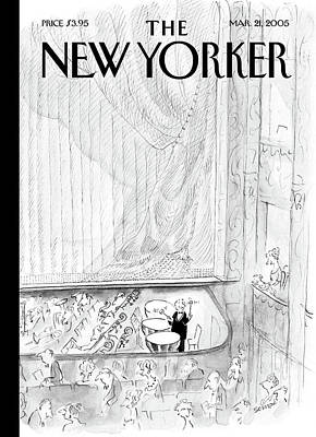 Painting - New Yorker March 21st, 2005 by Jean-Jacques Sempe