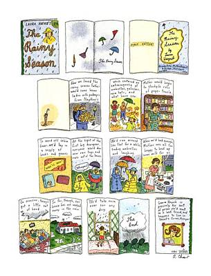 Book Title Drawing - New Yorker March 23rd, 1992 by Roz Chast