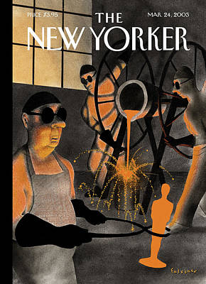 New Yorker March 24th, 2003 Art Print
