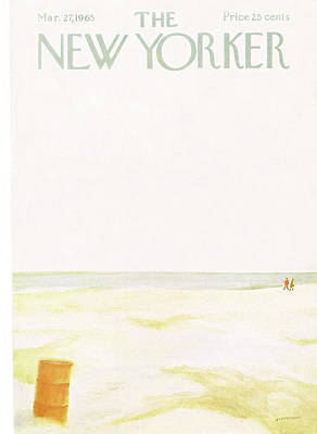 March 27th Painting - New Yorker March 27th, 1965 by James Stevenson