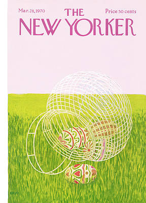 New Yorker March 28th, 1970 Art Print