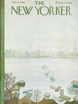 New Yorker March 31st, 1962 Art Print