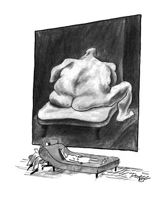 2 Drawing - New Yorker March 7th, 1994 by Peter Porges
