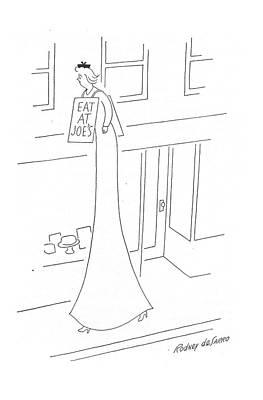 New Yorker May 13th, 1944 Art Print by Rodney de Sarro