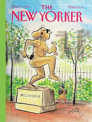 New Yorker May 13th, 1991 Art Print by Donald Reilly