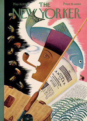 Fishing Reels Painting - New Yorker May 14th, 1932 by Bela Dankovszky