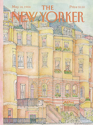 New Yorker May 14th, 1984 Art Print by Iris VanRynbach