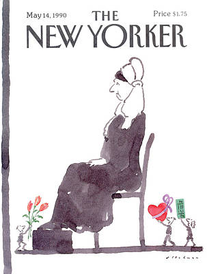 Very Painting - New Yorker May 14th, 1990 by R.O. Blechman
