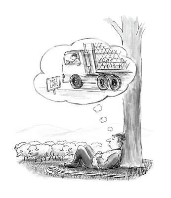 New Yorker May 16th, 1988 Art Print by Warren Miller