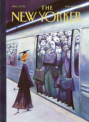 New Yorker May 16th, 2005 Art Print