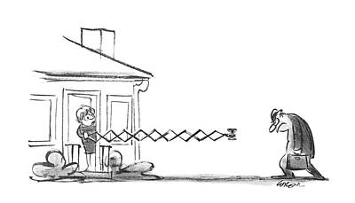 1969 Drawing - New Yorker May 17th, 1969 by Lee Lorenz