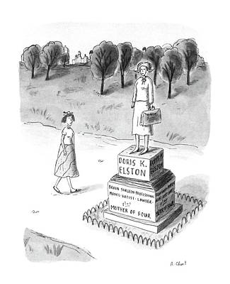New Yorker May 18th, 1987 Art Print by Roz Chast