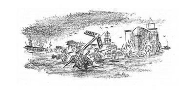 New Yorker May 20th, 1944 Art Print by Alan Dunn