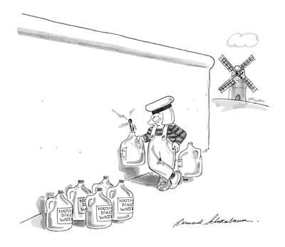 New Yorker May 20th, 1991 Art Print by Bernard Schoenbaum