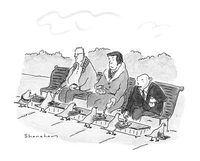 New Yorker May 21st, 1990 Art Print by Danny Shanahan