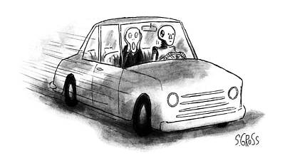 New Yorker May 22nd, 1995 Art Print by Sam Gross