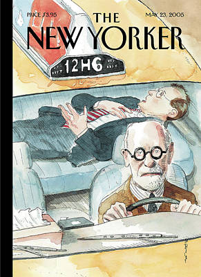 Barry Blitt Painting - New Yorker May 23rd, 2005 by Barry Blitt