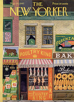 Painting - New Yorker May 24th, 1947 by Witold Gordon
