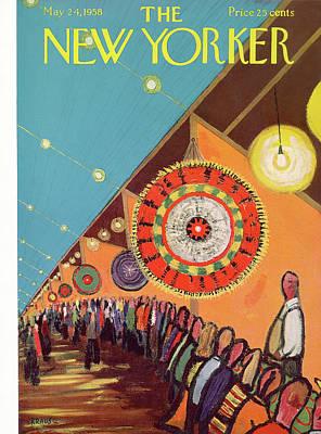New Yorker May 24th, 1958 Art Print by Robert Kraus