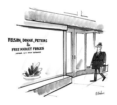 New Yorker May 26th, 1986 Art Print by Dana Fradon