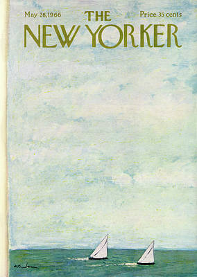 Abe Birnbaum Painting - New Yorker May 28th, 1966 by Abe Birnbaum