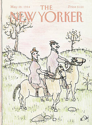 New Yorker May 28th, 1984 Art Print by William Steig