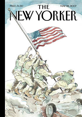 Barry Blitt Painting - New Yorker May 28th, 2007 by Barry Blitt