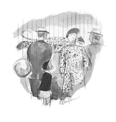 Clothes Clothing Drawing - New Yorker May 2nd, 1942 by Perry Barlow
