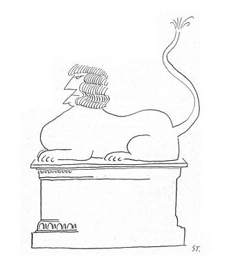 New Yorker May 2nd, 1953 Art Print by Saul Steinberg