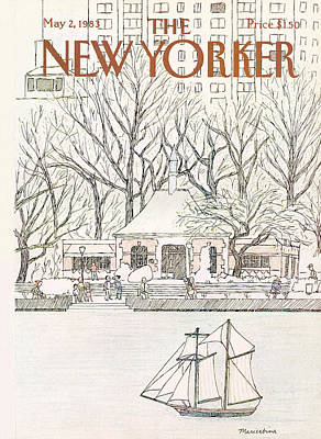New Yorker May 2nd, 1983 Art Print by Marisabina Russo