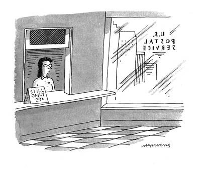 May 2nd Drawing - New Yorker May 2nd, 1994 by Mick Stevens