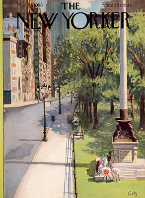 New Yorker May 31st, 1958 Art Print