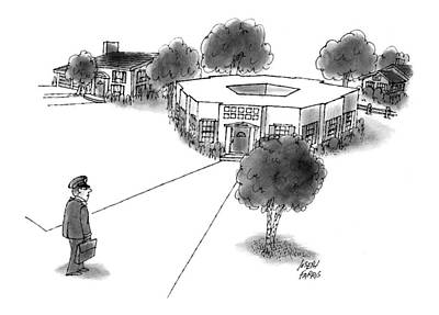 House Drawing - New Yorker May 31st, 1999 by Joseph Farris