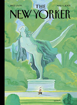 Jean-jacques Sempe Painting - New Yorker May 4th, 2009 by Jean-Jacques Sempe
