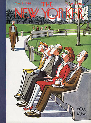 New Yorker May 6th, 1944 Art Print