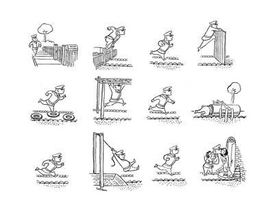 New Yorker May 6th, 1944 Art Print by Sam Cobean