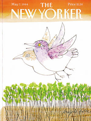 Spring Painting - New Yorker May 7th, 1984 by Joseph Low