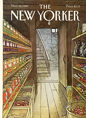 New Yorker November 10th, 1980 Art Print by Arthur Getz