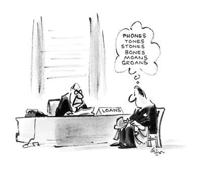 New Yorker November 10th, 1986 Art Print by Lee Lorenz