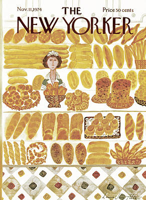 New Yorker November 11th, 1974 Art Print by Laura Jean Allen