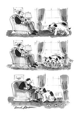 Rolling Stone Magazine Drawing - New Yorker November 11th, 1996 by Bernard Schoenbaum