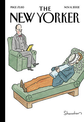 Danny Painting - New Yorker November 11th, 2002 by Danny Shanahan