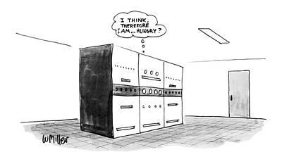 Literature Drawing - New Yorker November 14th, 1983 by Warren Miller
