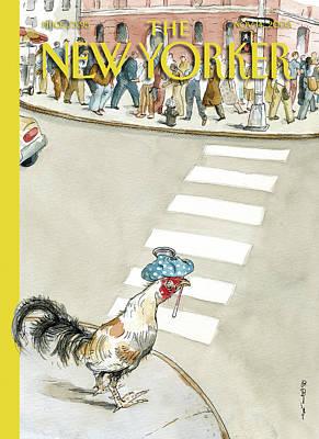 Barry Blitt Painting - New Yorker November 14th, 2005 by Barry Blitt