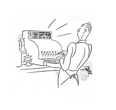 New Yorker November 15th, 1941 Art Print by Ned Hilton