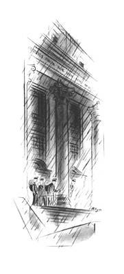 Mailman Drawing - New Yorker November 16th, 1940 by John Milligan